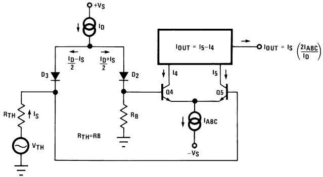Applications Voltage Controlled Amplifiers (Continued) 00798110 FIGURE 3. Equivalent VCA Input Circuit Stereo Volume