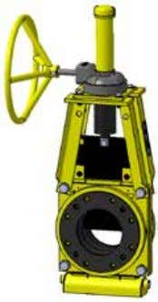 cover and dust boot. Chain Operator option also available. Hand wheel (HW) Technequip valves are available