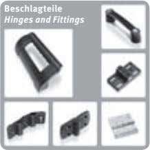 Beschlagteile Hinges and Fittings