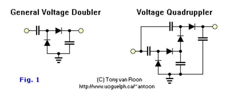 for 'voltage doubler' or 'HV'. Construction: As with all projects start out by laying out and