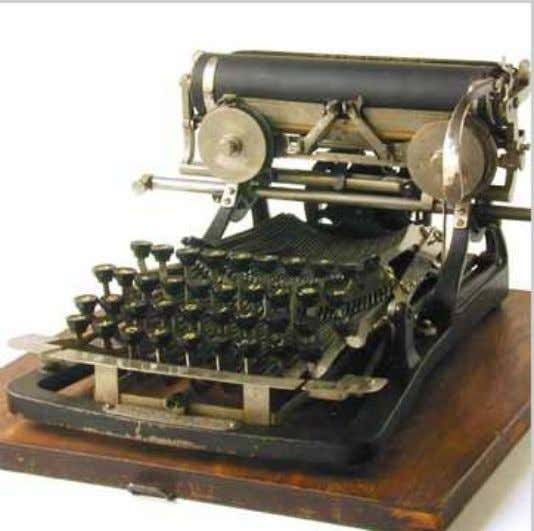 Frontstrike Keyboard Typewriters The most comfortable way to type of course, is with the written