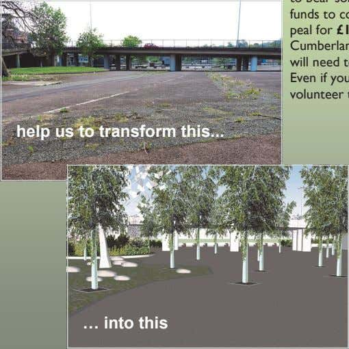 help us to transform this … into this