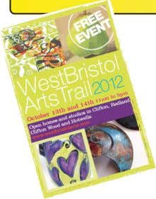 Events & Reviews 'West Bristol Arts Trail Oct 13th & 14th Doors will once again be