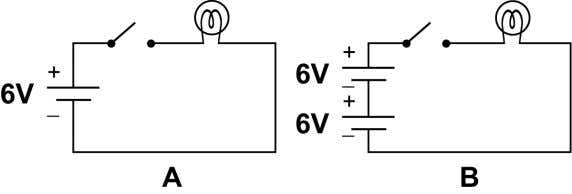 4. Use the diagram below to answer the following problems. a. What is the total voltage