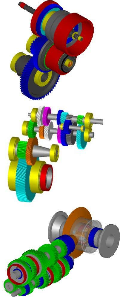 Figure 1-3 Tractor transmission, armoured personel carri er drive line, front wheel drive, super sports