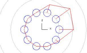 Calculation without bearing clearance. dy=0.05 (positive clearance in axial direction) dy=-0.05 (negative