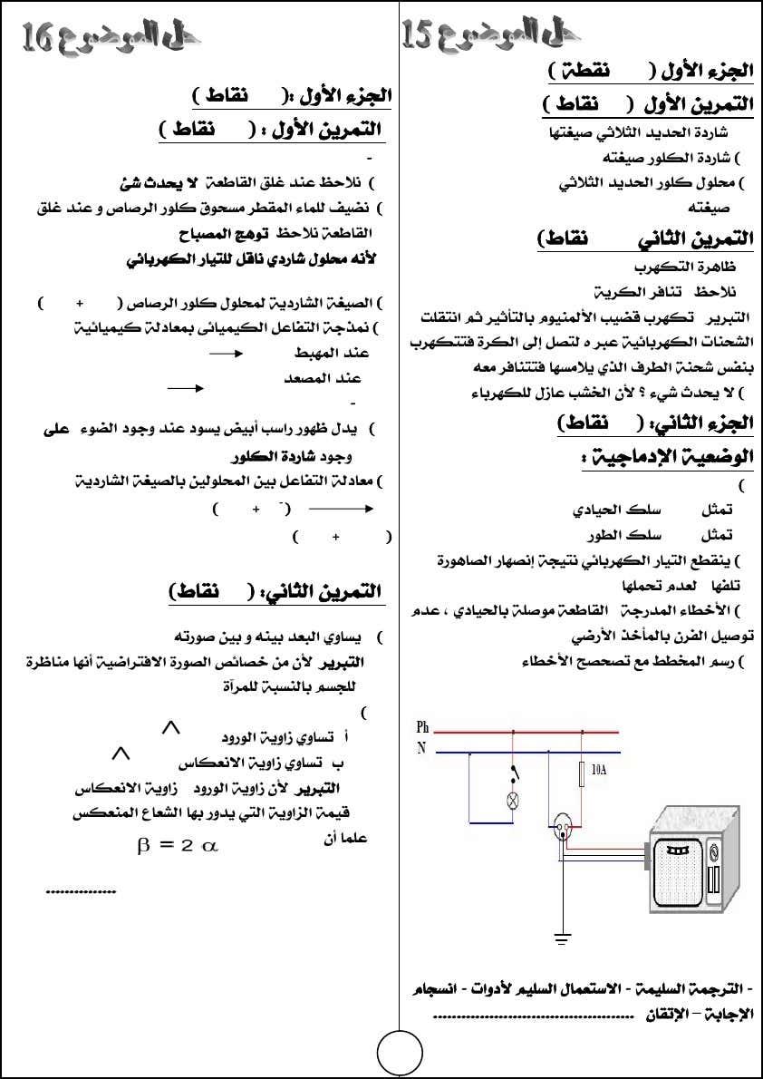كتاب السبيل إلى اختباراتي في العلوم الفيزيائية 4 متوسط 28-d644299da1