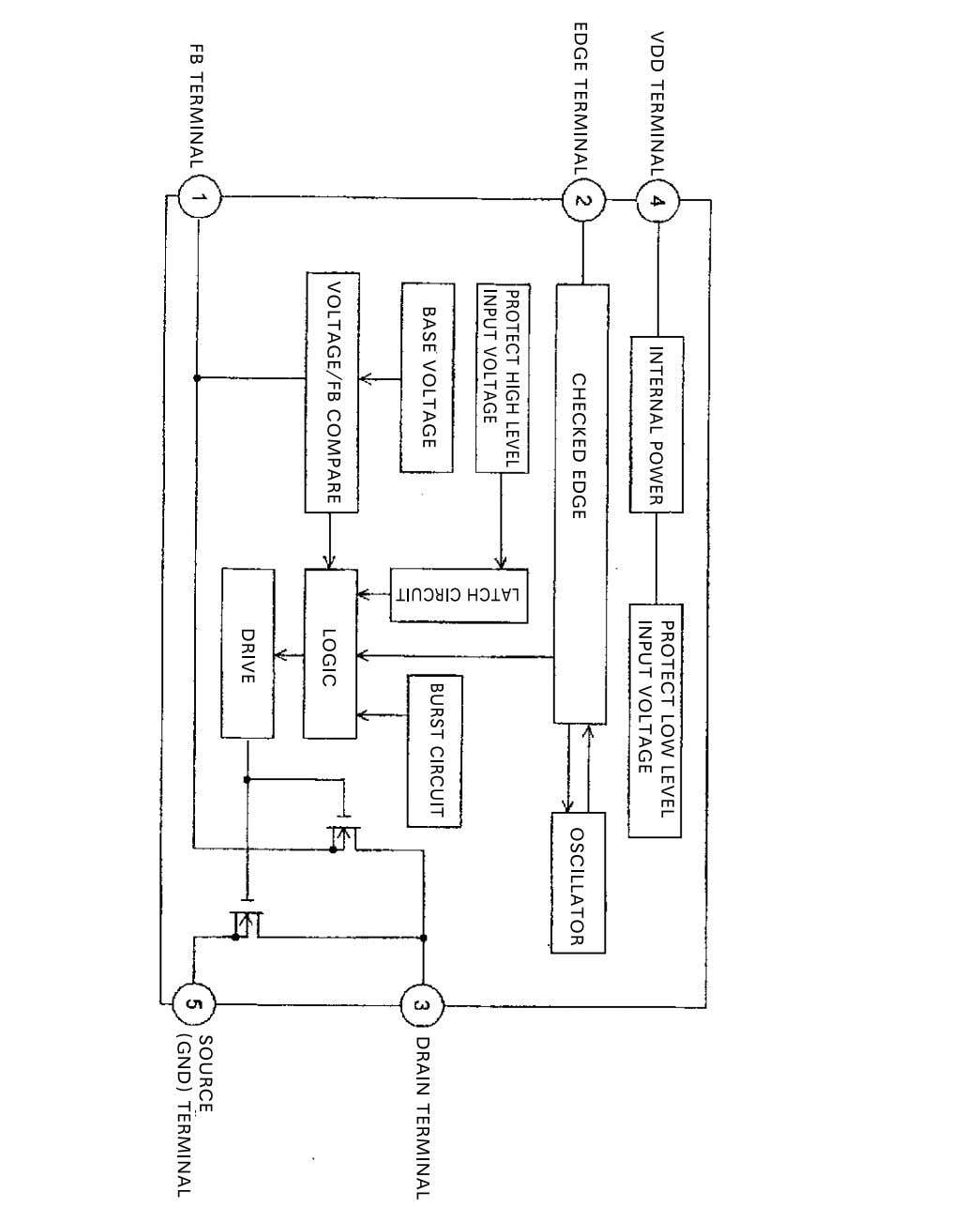 IC Block Diagrams IC601 POWER SUPPLY IC (QTN6Q04-E) -4-