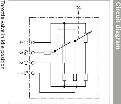 Circuit diagram ( ) S 3 2 ( ) S 1 1 4 2 Throttle