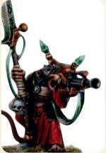 regiment consists of two Rat Ogres and Master Moulder Greel. Warlock Engineer Ratchitt   M W