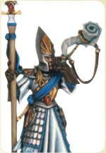 including a musician, standard bearer and Sea Master Althin. High Elf Sword Masters   M W