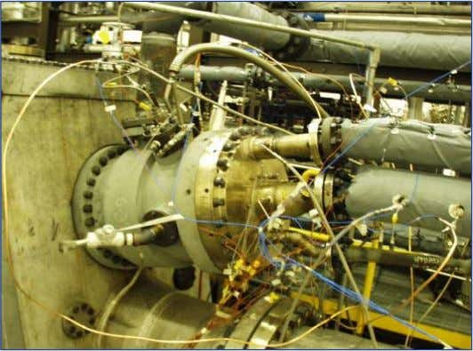 Full Scale Syngas Combustor Air MNQC Syngas Combustor Extraction N2/Steam Fuel Nozzle Syngas Air from Compressor