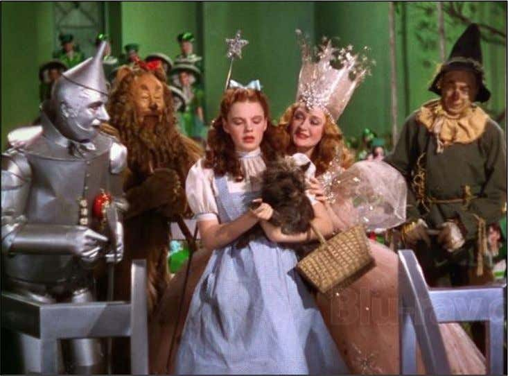 Figure 13 – The Wizard of Oz 1939 (Source: Blu-ray, n.d.). Figure 14 – Gone