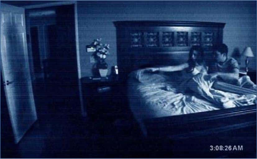 Figure 34 – Paranormal Activity 2007 (Source: Sacks, 2009). Figure 35 – A Nightmare on