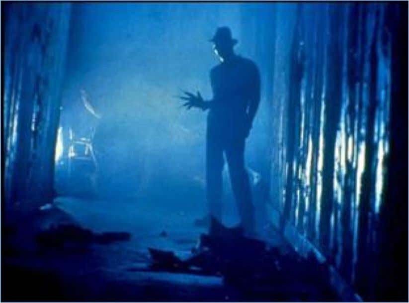 34 – Paranormal Activity 2007 (Source: Sacks, 2009). Figure 35 – A Nightmare on Elm Street