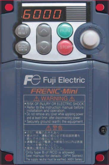 Compact Body. Get Our Most User-Friendly Inverter yet! NEXT Generation! COMPACT INVERTER FRENIC FUJI ELECTRIC