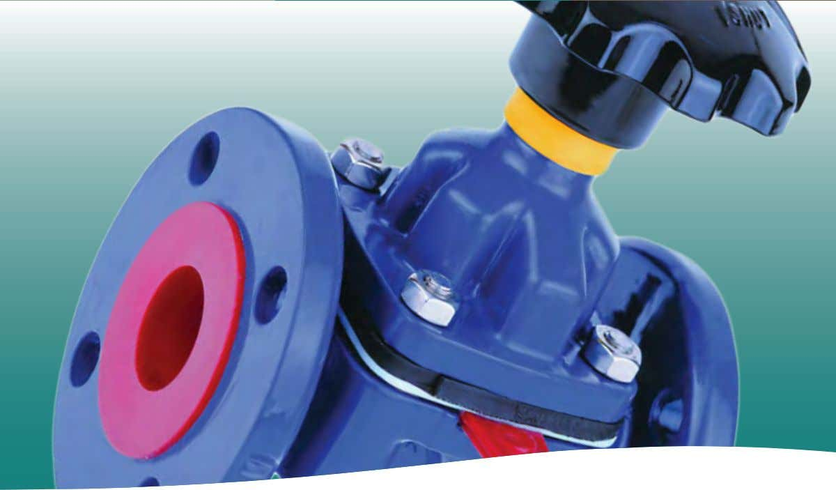 brands you trust. Industrial Diaphragm Valves www.cranecpe.com