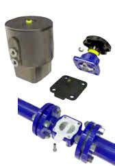 in lower cost of ownership compared to other valve types.  Suitable for Control Throttling and
