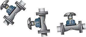 times the pipe diameter if the valve is used for control). Links to animations depicting the
