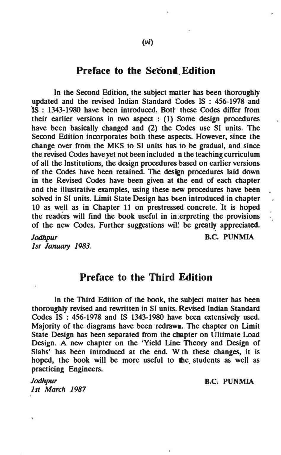 (vt) Preface to the Seton•. Edition In the Second Edition, the subject rmtter has been