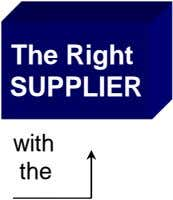 The Right SUPPLIER with the