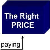The Right PRICE paying