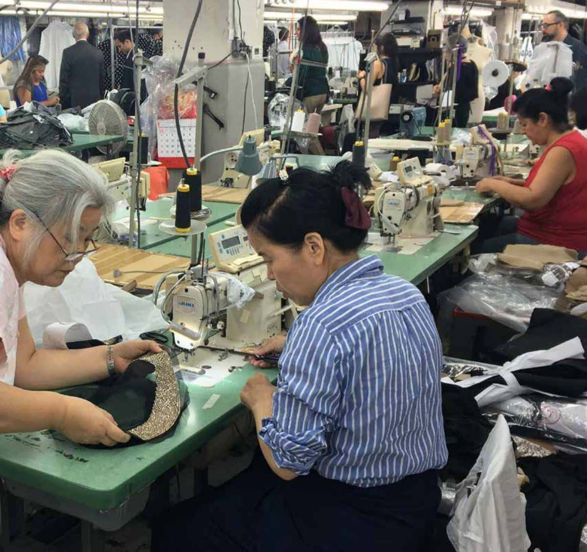 Report GARMENT CENTER STEERING COMMITTEE &Recommendations