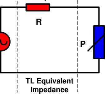 R P TL Equivalent Impedance