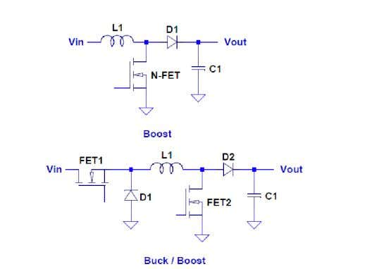 is a Senior FAE with ON Semiconductor; www.onsemi.com Figure 2 : Various Boost Supplies By JohN