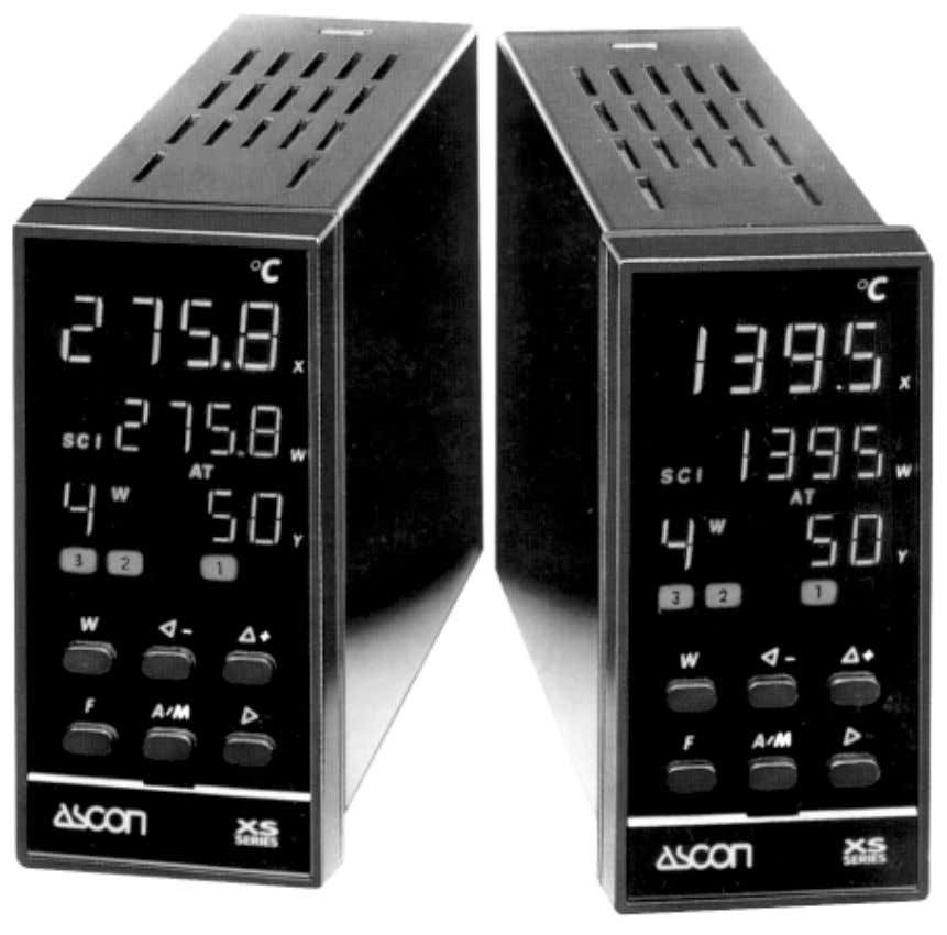 Multi-output or Multi-set point Controller XS Series INSTRUCTION MANUAL MIU.XS-6/96.10/E COD J30-154-1AXS ING ASCON spa