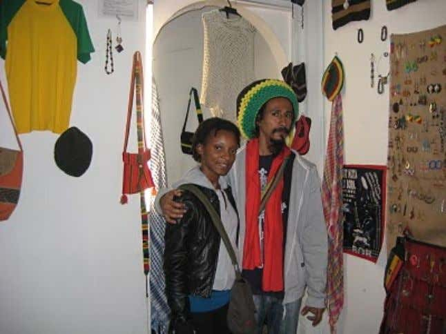 who in turn were gracious enough to show me around as well. Rastas in Bogota Colombia