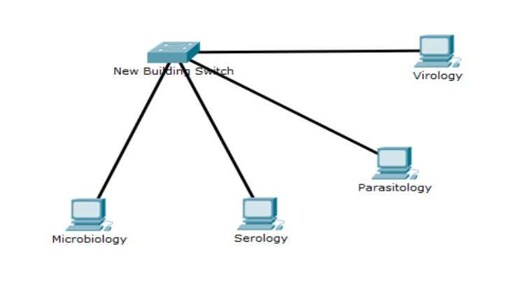 Figure 4.3: Overview of Network in New Building NPHL Again similarly, overview of the network