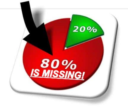 ABOUT MISSING DECISION POINTS: Missing Decision Points = Missing Settlement Dollars!