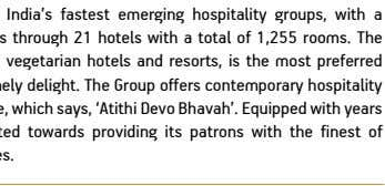 The Byke Hospitality Ltd is one of India's fastest emerging hospitality groups, with a presence