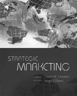 Strategic Marketing 1. Imperatives for Market-Driven Strategy 2. Markets and Competitive Space 3. Strategic Market
