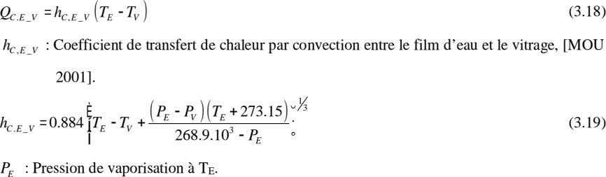 = h ( TT- ) (3.18) Q CE V CE,_V E V : Coefficient de