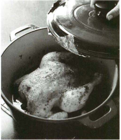 flavor. I had to try making poulet en cocotte at home. As it bakes in a