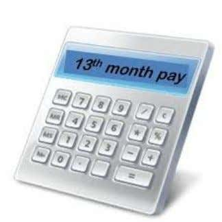 • The 13th month pay shall be in the amount not less than 1/12 of the