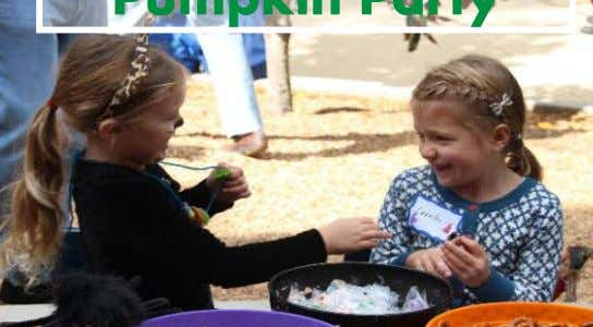 Family Work Day Pumpkin Party Winter Celebration By Dayna Grayson When my son was a Bunny,