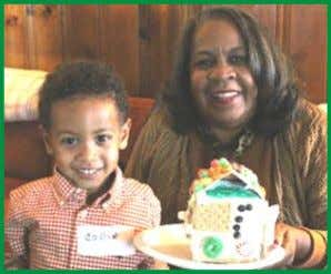and the whole family! Grandparent Gingerbread House Workshop Volunteering Is a great way to connect with