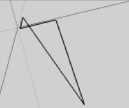 draw are coplanar. This looks like a coplanar set of lines But seen from another perspective,