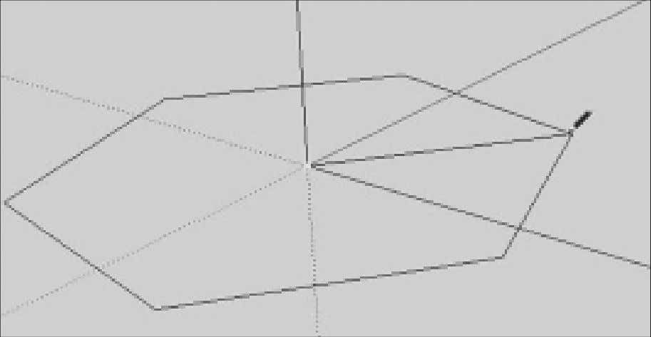 in the VCB below. You could type the exact radius in the VCB Drawing a polygon