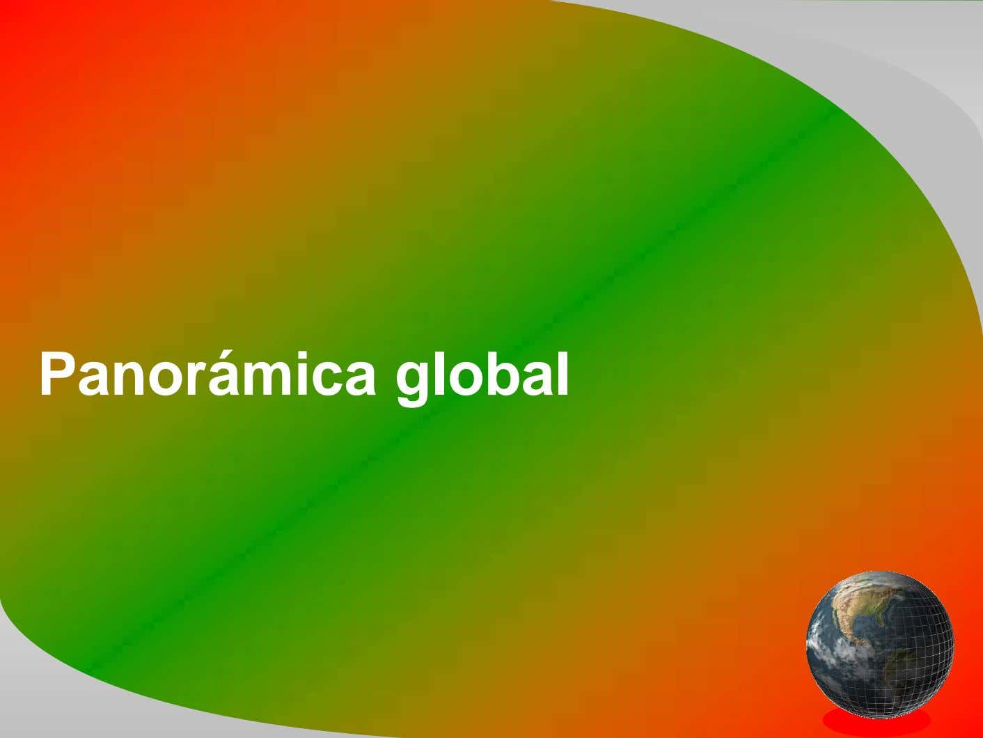 Panorámica global