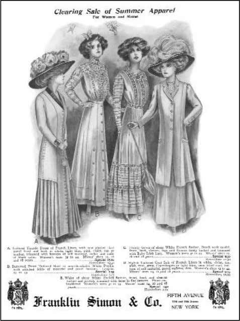 —AS SEEN IN VOGUE— of the new couture styles from Paris. In October 1909, Vo gue