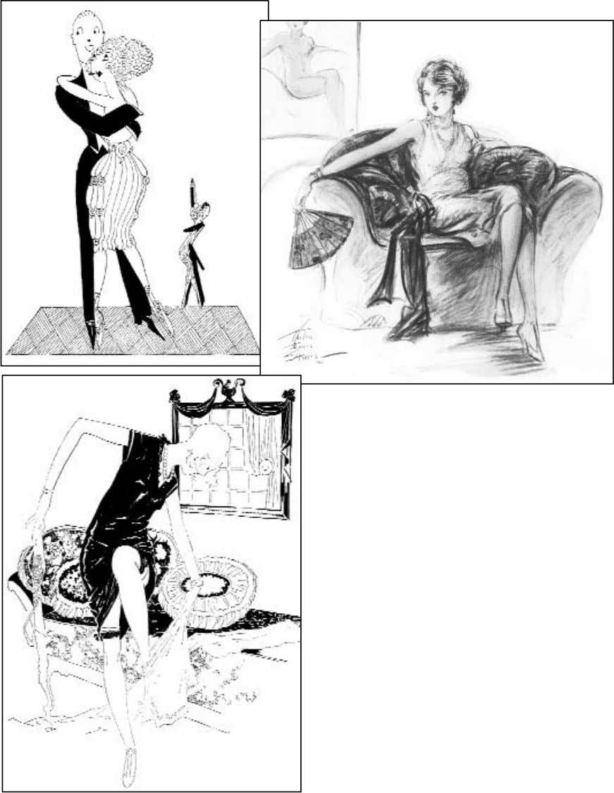 "vogue feb 15, 1921 ""Paint and Powder Philoso- phy"" p. 41 vogue nov. 15, 1926"