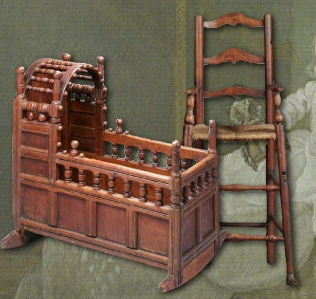 18th Century Material Culture Infant Furniture