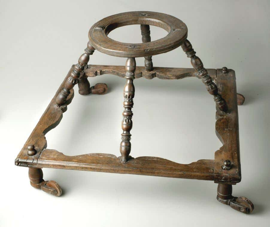 Baby Walker of Cherry & Iron c. 1700 - 1750 (New York Historical Society)