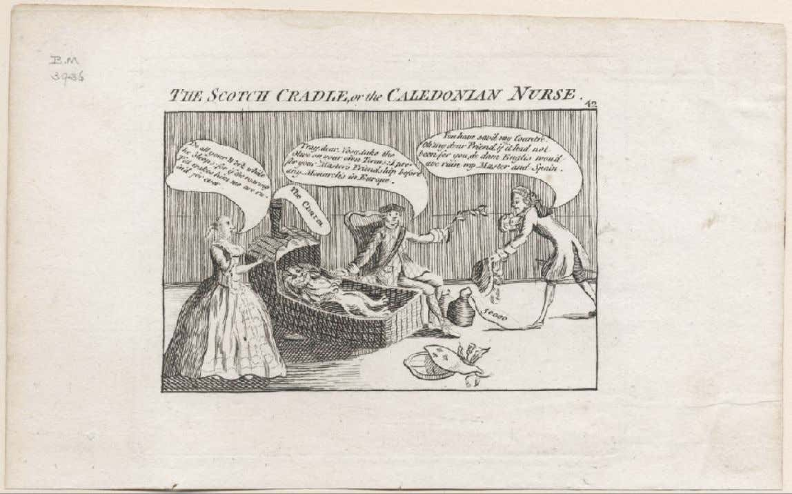 """THE SCOTCH CRADLE, or the CALEDONIAN NURSE"" London 1764 (Lewis Walpole Library)"