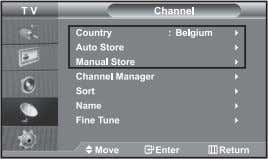"is displayed. button again, to select ""Plug & Play"". - Storing Channels automatically - Storing Channels"
