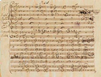 am Spinnrade (« Marguerite au rouet »), op.2, D.118 Manuscrit de l ' octuor D.803 •